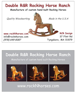 Custom made Rocking horses